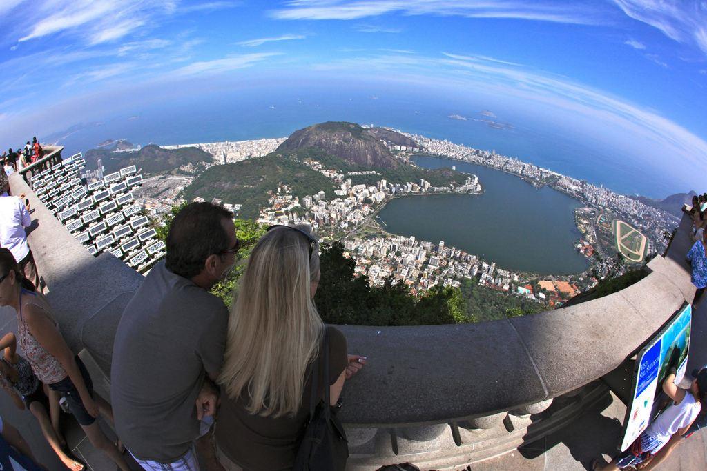 Christ Redeemer statue, Rio de Janeiro, Brazil