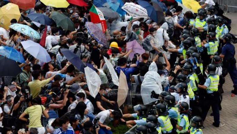 HONG-KONG protests