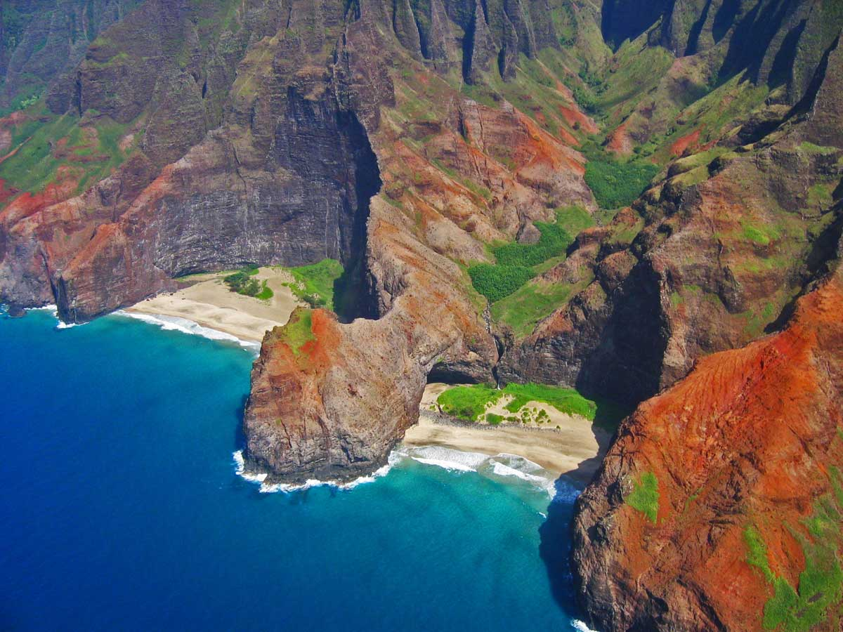 Hidden Beaches of Kapaa, Hawaii