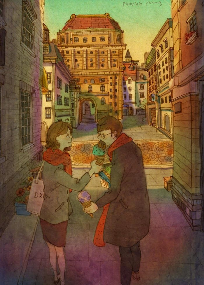 Korean Artist Beautifully Captures What Real Love Truly Looks Like (3)