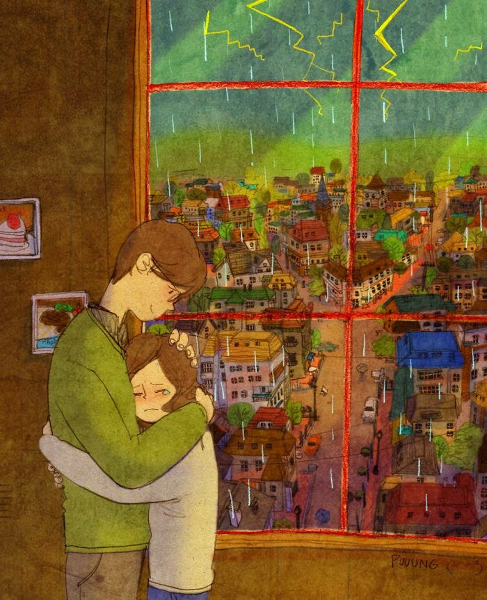 Korean Artist Beautifully Captures What Real Love Truly Looks Like (5)