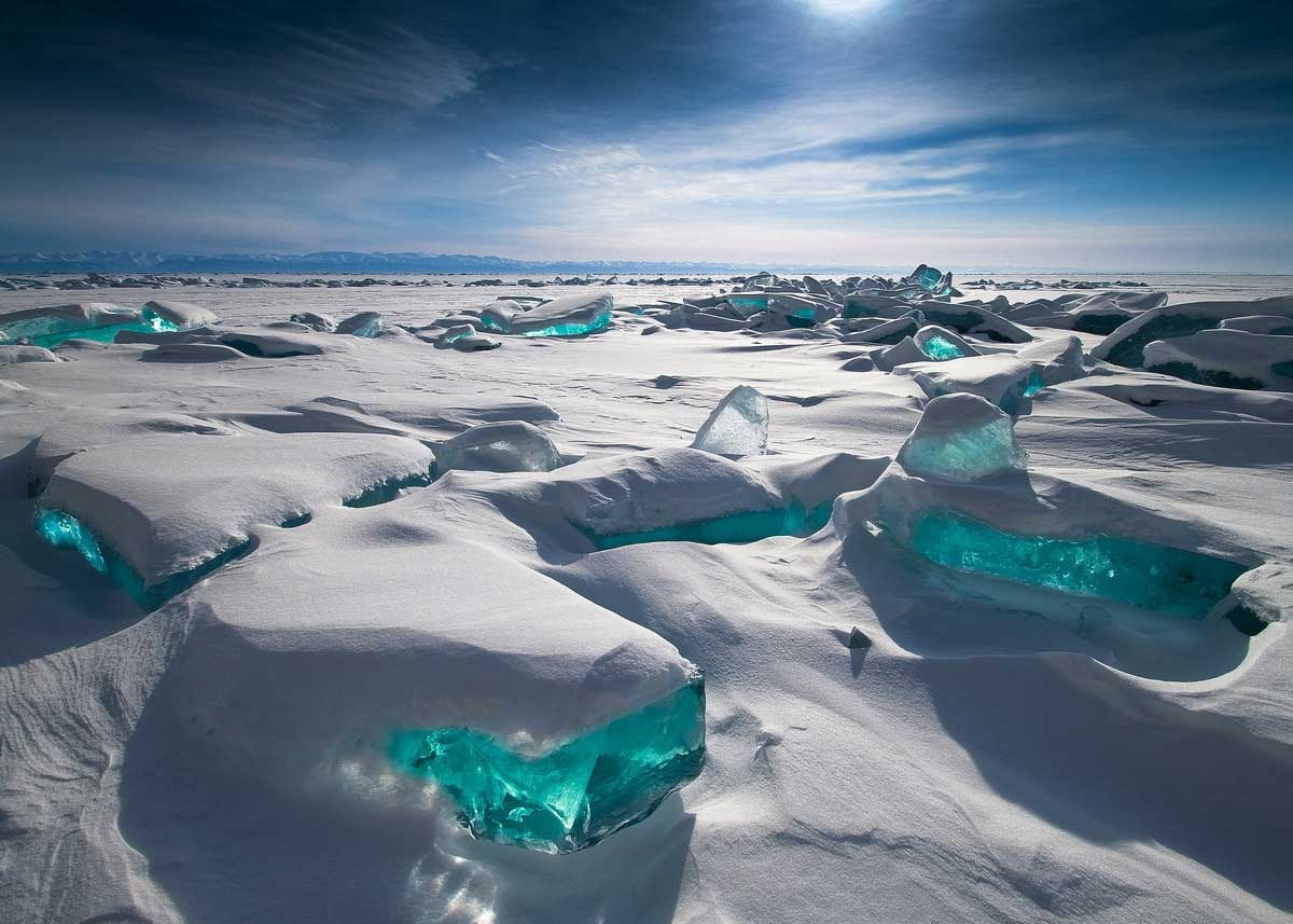Northern Lake Baikal, Russia