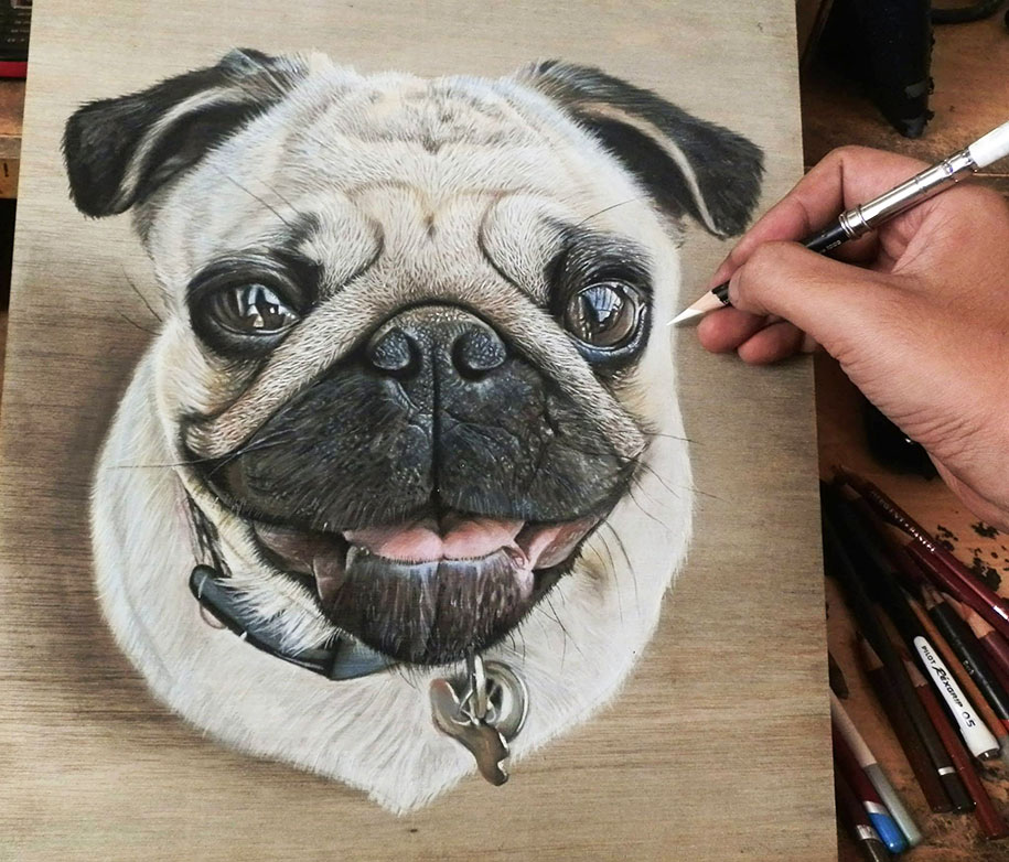 photorealism-drawing-wood-ivan-hoo-1