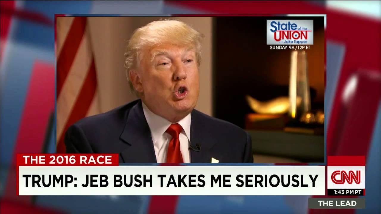 trump on bush