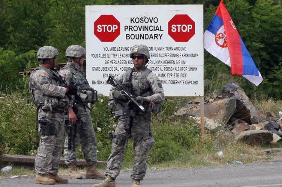 Kosovo-granica