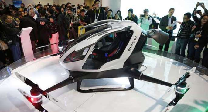 ehang 184 china drone1