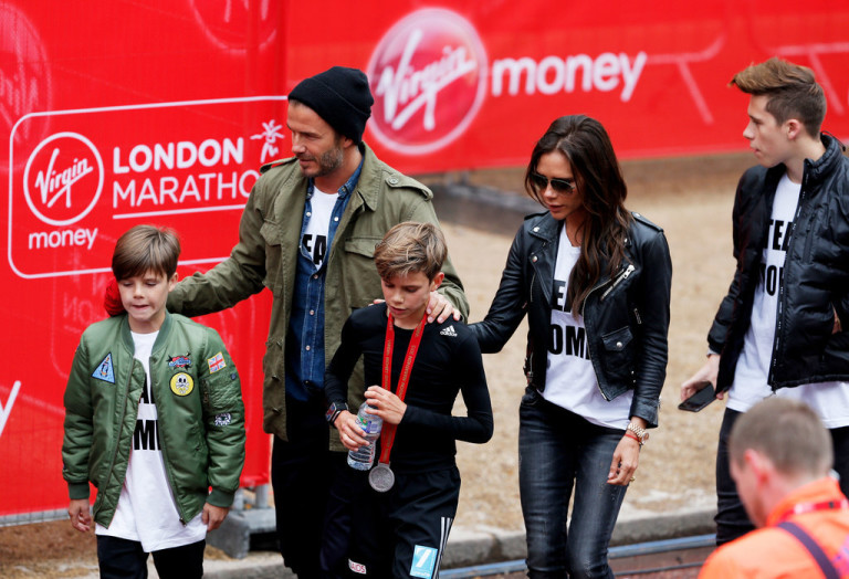 Beckham-Family-London-Marathon-2015-Pictures