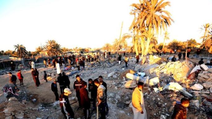 amerika napad libija
