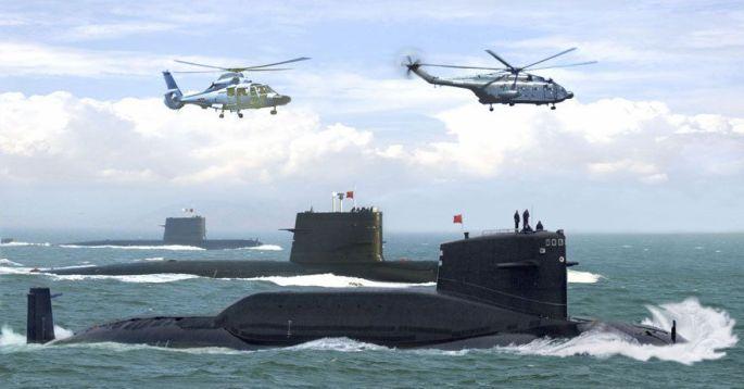 kina podmornica