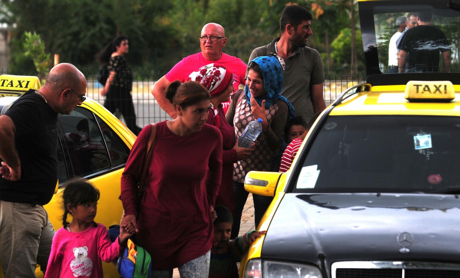 taksisti gevgelija migranti