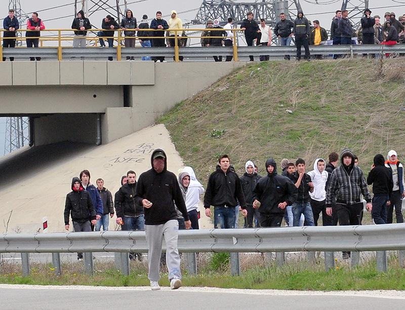 Skoplje,13.04.2012 - Petero ljudi ubijeno je kraj jezera u blizini Skoplja