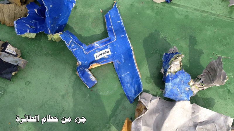 EgyptAir srusen avion