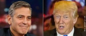 Клуни и Трамп