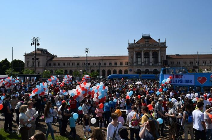 abortus protest Zagreb