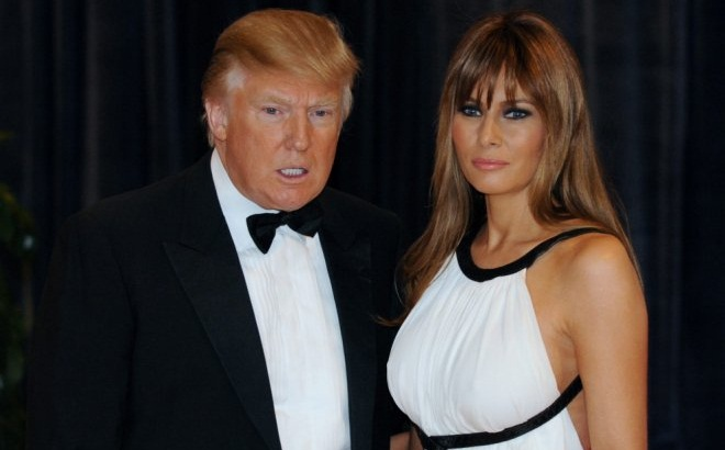 donald i melania tramp