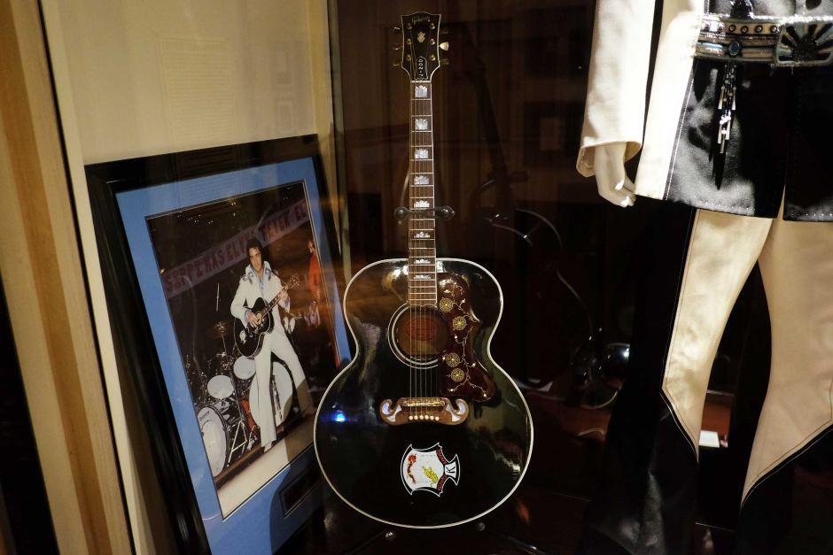 elvis prisli gitara