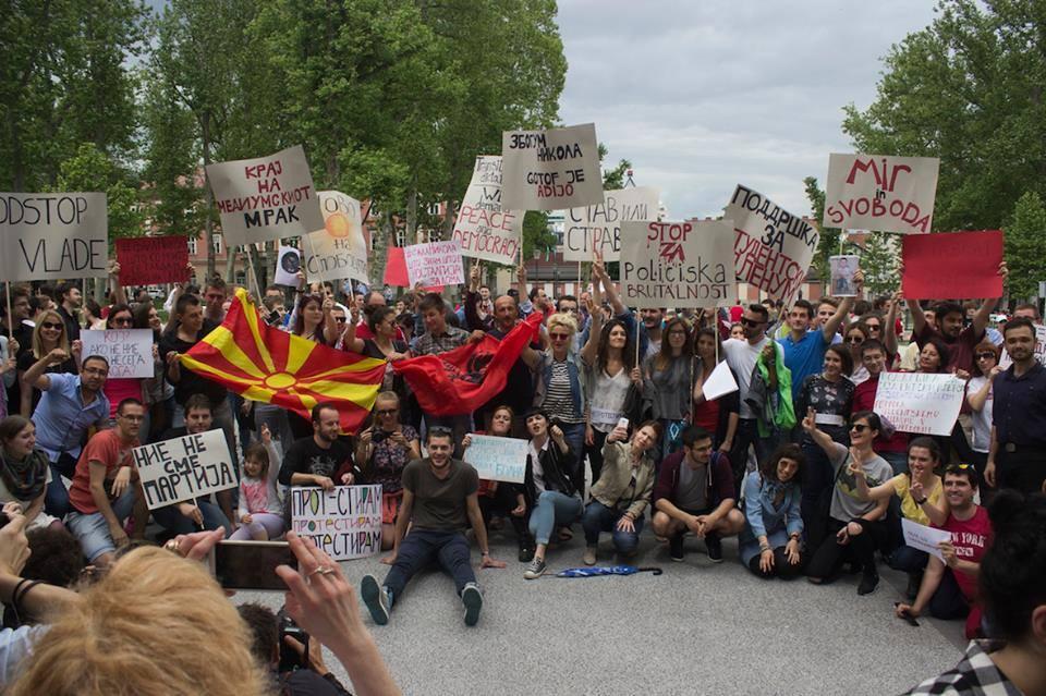 ljubljana protest sarena revolucija