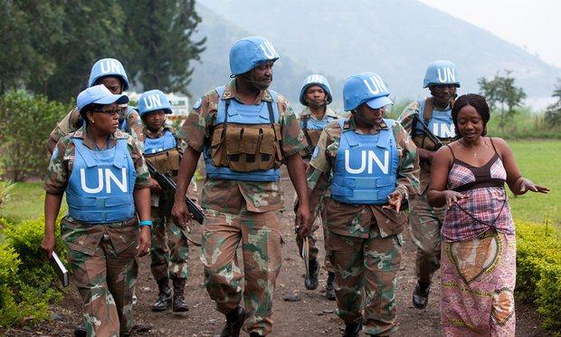 mirovnici africa