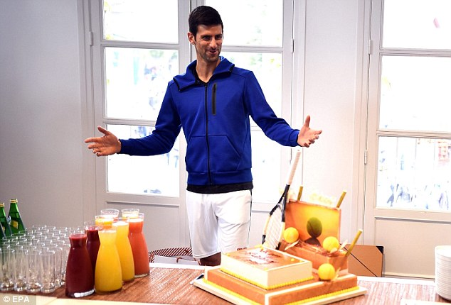 novak gjokovic torta