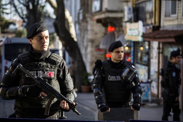 turcija policija