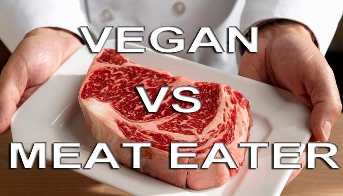vegav vs meat eater