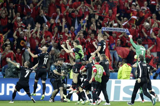 Албанија-прослава на погодок