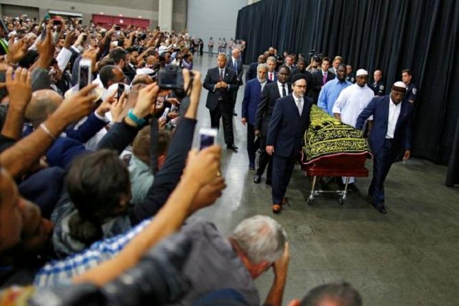 Мухамед Али-погреб