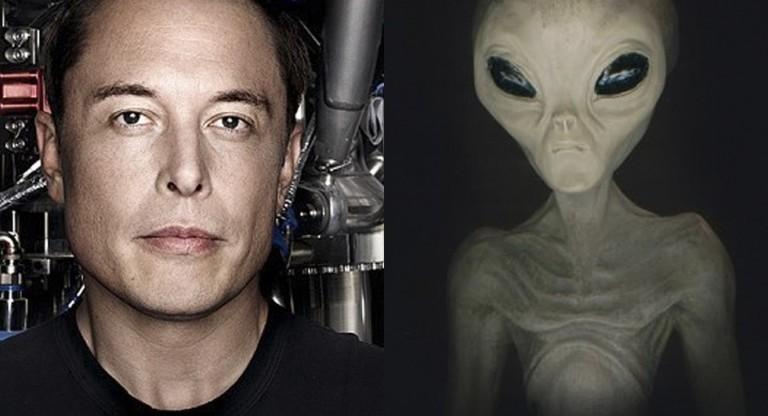 elon musk alien