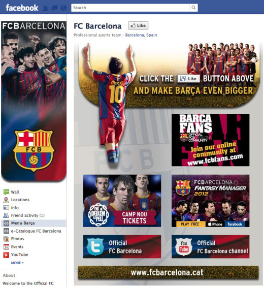 fc barcelona fb