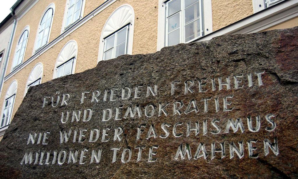 Geburtshaus von Adolf HitlerFoto: Clemens Fabry