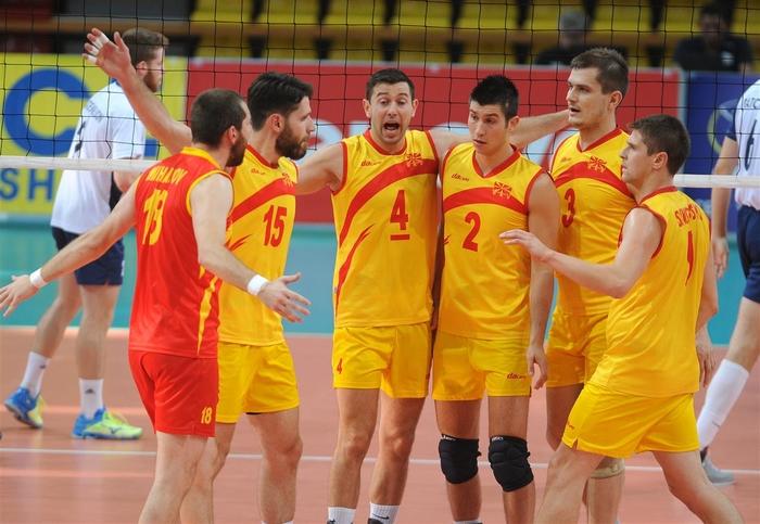 makedonski odbojkari