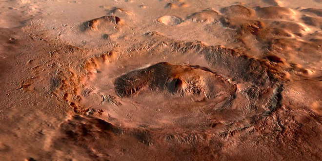 mars krater