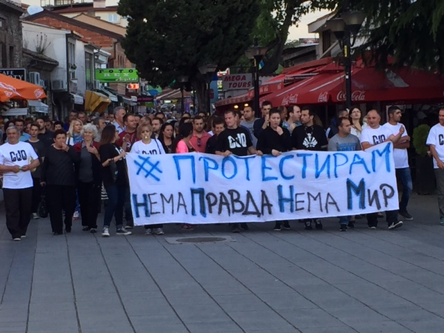 ohrid protest