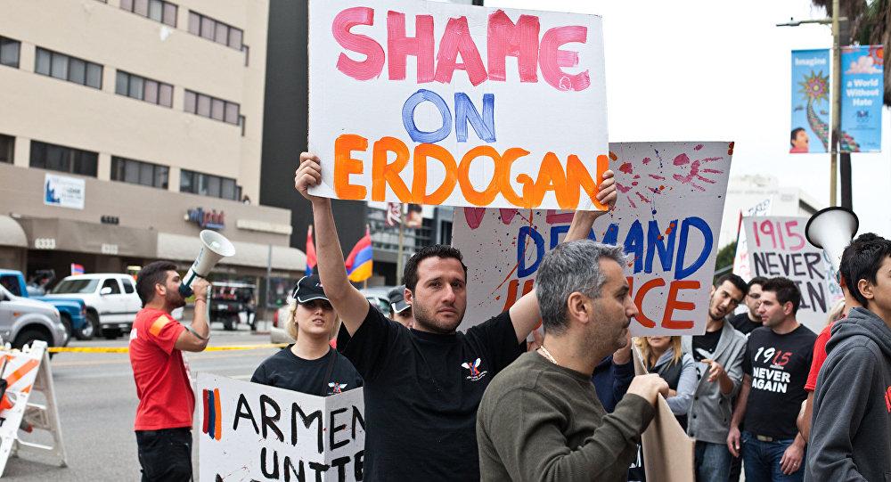 protest ermenski genocid