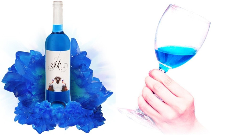 Gik - World's First Blue Wine Goes On Sale