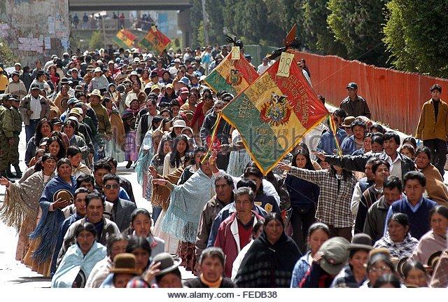 Боливија-протести