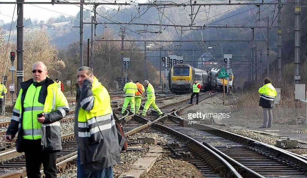 vozovi sudar belgija