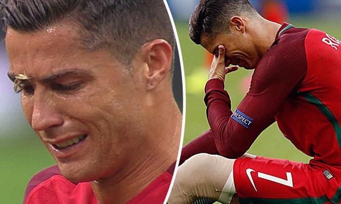 Kristijano Ronaldo povreda