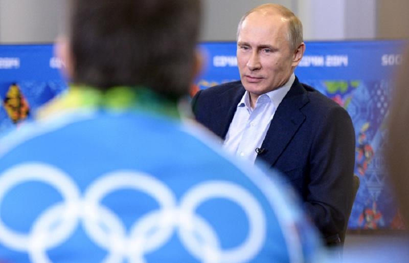 Putin olimpiski igri