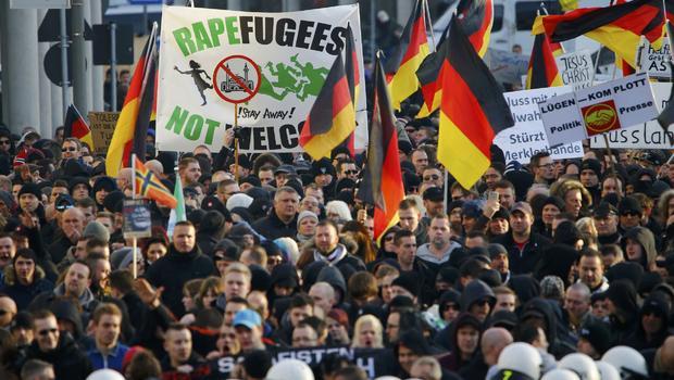 germanija protesti siluvanja