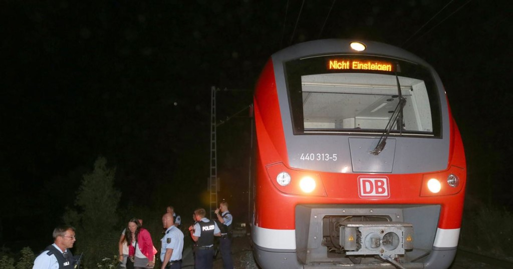 germanija voz napad