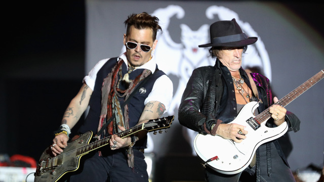 Hollywood Vampires Perform At  Hessentag In Herborn