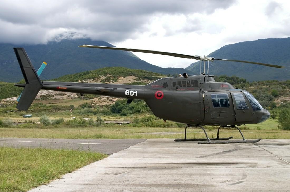 helikopter albanija