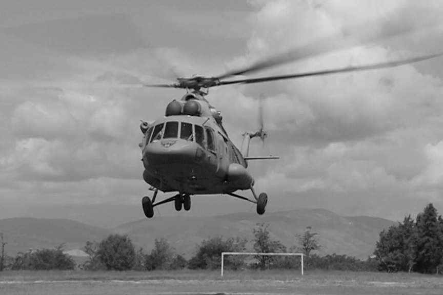 helikopter nesrekja