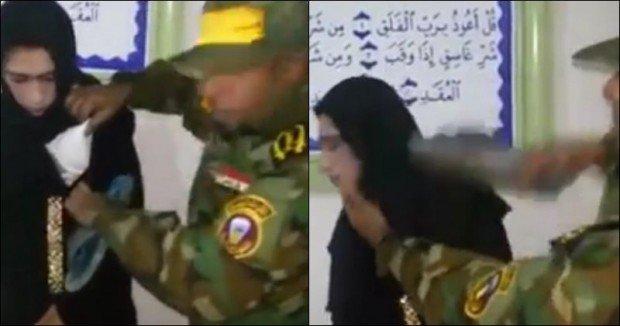 isis borci hijab