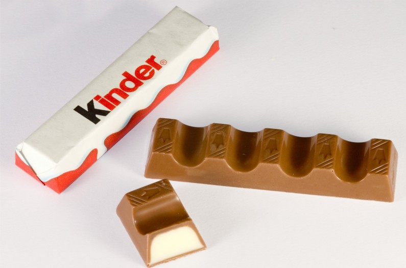 kinder cokolada
