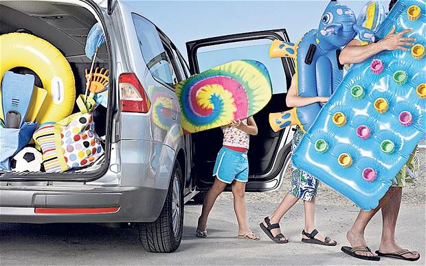 leto odmor familija kola