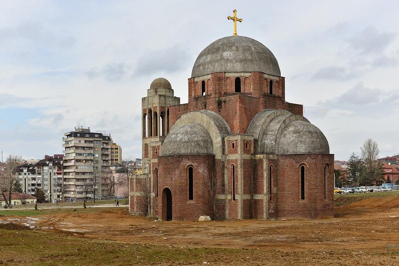 nedovrsena crkva pristina