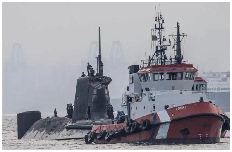 podmornica sudar