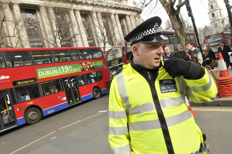 policija london